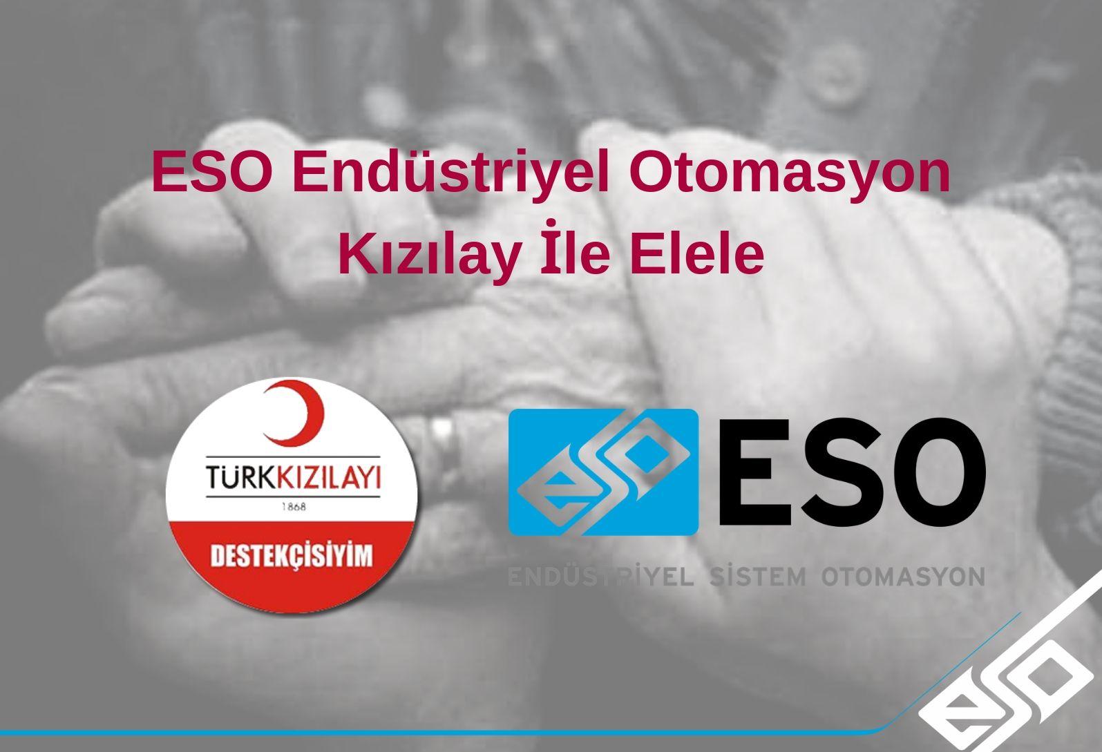 ESO Endüstriyel Otomasyon Kızılay'ın İftar Yemeğine Sponsor Oldu