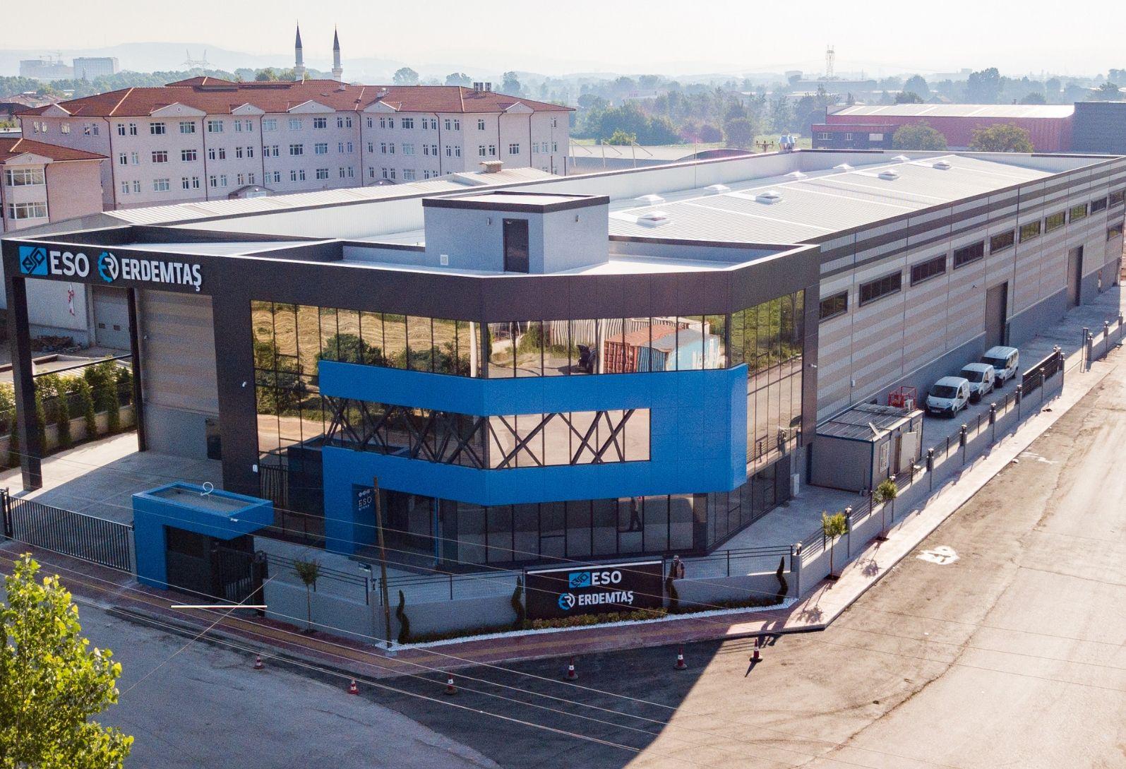 Erdemtaş Makine Yeni Fabrika Binasına Taşındı